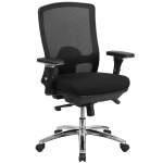 BTOD Intensive Use 24/7 Big And Tall Mesh Back Office Chair Rated For 350 lbs.