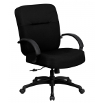 "BTOD Heavy Duty Fabric Office Chair 21"" Width Seat Rated For 400 lbs."