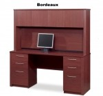 Bestar Embassy Credenza with Hutch Office Desk (BF-60851)