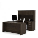 Bestar Embassy U Shaped Office Desk with Hutch (BF-60857)