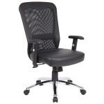 "Boss Mesh Back Office Chair ""Web Chair"" (BS-B580)"