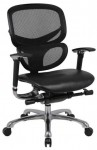 Boss Contemporary Ergonomic Office Chair Caressoft Seat/Mesh Back ( BS-B6777-BK)
