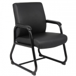 Boss Caressoft Guest Chair with Sled Base (BS-B709)