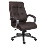 Boss LeatherPlus Conference Chair Padded Arm Rests (BS-B8771)