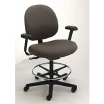 "Cramer Large Back Intensive Use Triton Office Chair w/ Chair Height Options 350 lb. Capacity Standard Seat Height 16-20.5"" (CR-TRLX4)"
