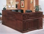 DMI Governors Series U Shaped Laminate Receptionist Desk w/ Left Or Right Configuration (DMI-7350XXX)
