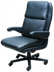 Atlantis Big and Tall Intensive Use Executive Fabric or Leather Office Chair by ERA Products - 500 lbs Rating (ERA-ATLN)