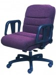 ERA Hercules 2500 Mid Back Big and Tall Intensive Use Office Chair 500 lb Rating