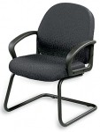Eurotech Cruze Sled Based Fabric Guest Chair (EUR-4984)