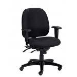 Eurotech 4X4SL Fabric Ergonomic Computer Chair with Seat Slider (EUR-498SL)