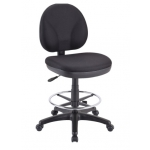 "Eurotech OSS400 Drafting Chair w/ Foot Ring - Seat Adjustment 24-29""H (EUR-OSS400wDSK500)"
