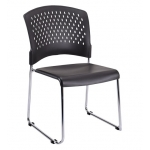 Eurotech S4000 Armless Stack Chair With Sled Base (EUR-S4000)
