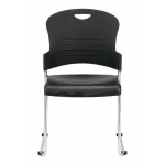 Eurotech S5000 Armless Stack Chair With Sled Base (EUR-S5000)