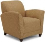 Flexsteel Charisma Series Lounge Chair Mocha Legs w/ Two Fabric Options (FLX-C208810)