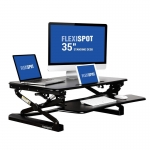 "Flexispot M2B/M2W 35"" Standing Desk Converter (Black or White)"