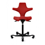 H�G Capisco 8106 Stool w/ Back Support Saddle or Flat Seat
