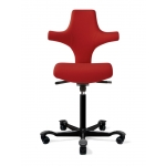 HÅG Capisco 8126 Flat Seat Sonography Chair w/ Back Support