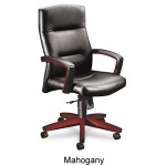 HON 5000 Series Park Avenue Collection Executive High Back Office Chair With Optional Leather or Vinyl Upholstery (HON-5001)