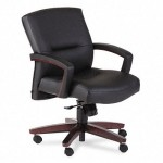 HON 5000 Series Park Avenue Collection Mid Back Office Chair With Optional Leather or Vinyl Upholstery (HON-5002)