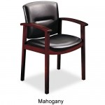 HON 5000 Series Park Avenue Collection Guest Chair With Optional Leather or Vinyl Upholstery (HON-5003)