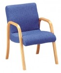 HPFI Scoop Series Arm Chair 60+ Fabric Options Available (HPFI-1003)
