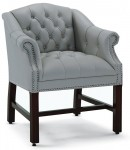 HPFI Traditional Reception Series Arm Chair 60+ Fabric Options Available