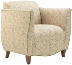 HPFI Sophia Series Club Chair 60+ Fabric Options Available (HPFI-5201)