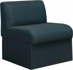 HPFI Steps Series One Seat Module Guest Chair 60+ Fabric Options Available (HPFI-7431)