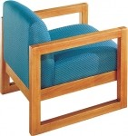 HPFI 7500 Series Sled Base Guest  Chair 60+ Fabric/Leather Options Available