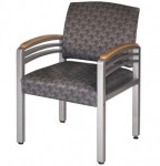 HPFI 912 Trados Bariatric Guest Chair w/ Weight Capacity Options Available Up to 1000 lbs (HPFI-912MET)