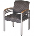 HPFI 914 Trados Metal Guest Chair w/ Solid Steel Frame