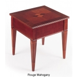 HPFI Marquet Series End Table Honey Cherry or Rogue Mahogany Finish