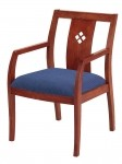 "KFI 3"" Upholstered Diamond Back Guest Chair 3 Color Options Available (KFI-DB4921)"
