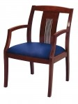 "KFI 3"" Upholstered Slat Back Guest Chair 3 Color Options Available (KFI-SB4921)"