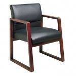Lesro Bristol Series Ergo Back Guest Chair w/ Built In Lumbar Support (LS-B1201G4)