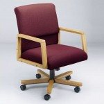 Lesro Bristol Series Low Back Ergo Office Chair w/ Built In Lumbar Support (LS-B1201X7)