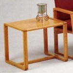 Lesro Bristol Series End Table w/ Solid Oak Construction (LS-B1280T3)
