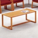 Lesro Bristol Series Coffee Table w/ Solid Oak Construction (LS-B1480T3)