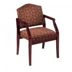 Lesro Ashford Series Guest Chair w/ Solid Hardwood Construction (LS-D1101G5)