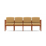 Lesro Amherst Series 4 Seat Reception Sofa Without Center Arms (LS-K4401G5)
