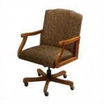 Lesro Madison Series Low Back Office Chair w/ Solid Hardwood Construction (LS-M1501X7)