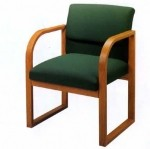 Lesro Ergo Back Contour Series Guest Chair w/ Ergonomic Back Design (LS-R1201G3)