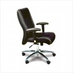 Mayline Task Series Hi Back Leather/Mesh Computer Chair (MAY-2522)
