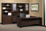 Mayline Brighton Series Modern Executive U Desk