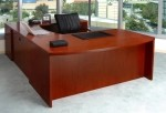 Mayline Mira Series U-Shape Executive Computer Desk