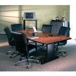 Mayline CSII Rectangular Conference Table w/ Slimline Legs (MAY-RXXR)