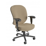 Nightingale 24/7 Heavy Duty Intensive Use Office Chair Rated For 450 lbs