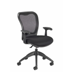 Nightingale MXO Mid Back Conference Chair Waterfall Seat Design