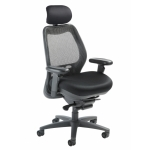 Nightingale SXO Mid Back Mesh Office Chair With Headrest (NG-6100D)