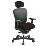 Nightingale CXO Mid Back Heavy Duty Mesh Office Chair With 450 lb.Weight Capacity (NG-6200D-HD)
